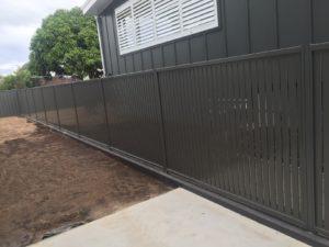 aluminium boundary fence