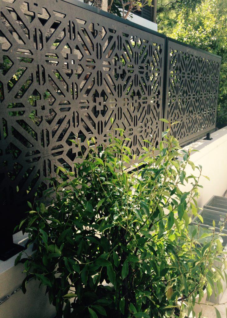 outdoor screen Portofino design