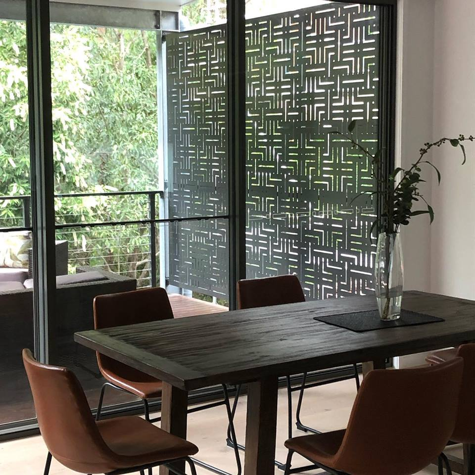 Aluminium decorative screens Bardon
