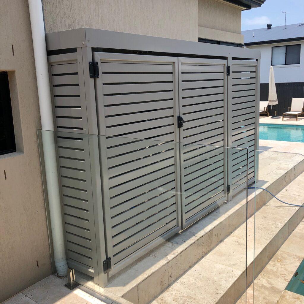 pool pump enclosure