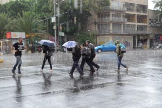 lluvias en la cdmx