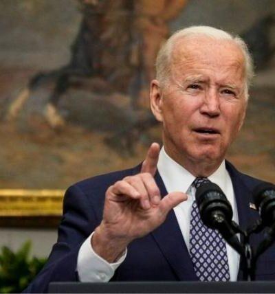 """Biden asegura que la misión """"va por buen camino"""""""
