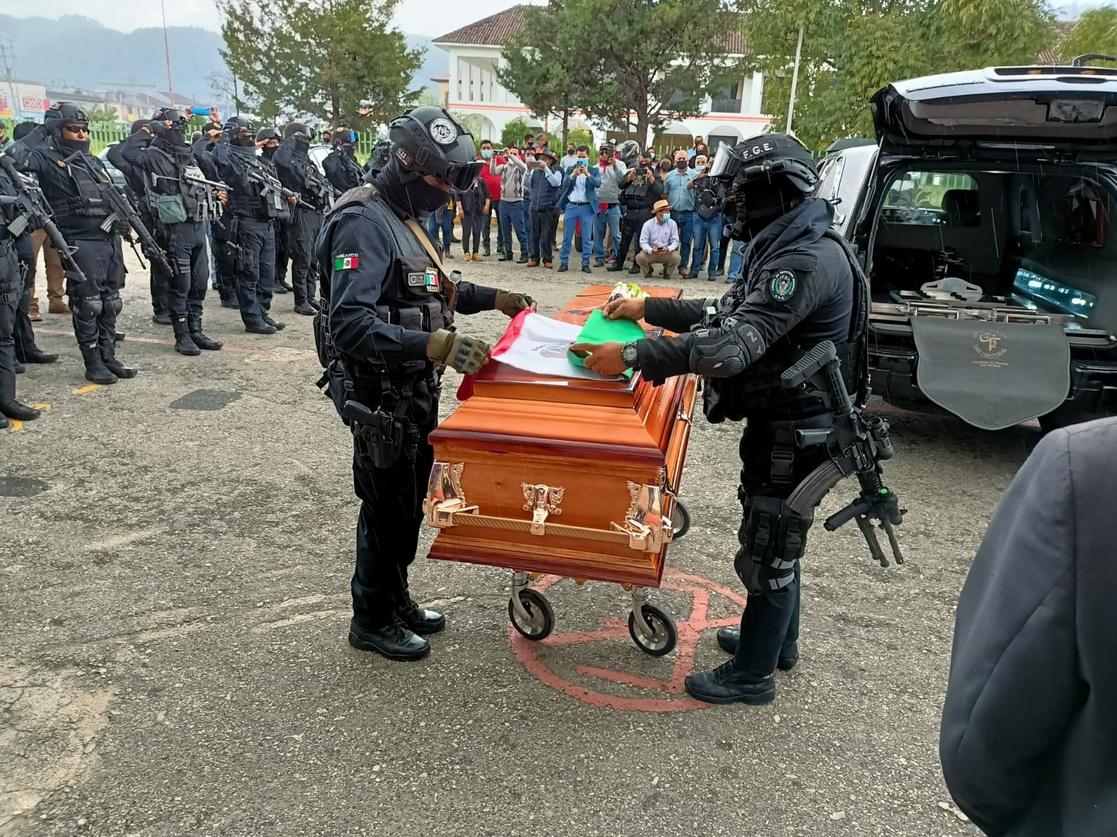 homenaje al fiscal de Justicia Indígena, Gregorio Pérez Gómez