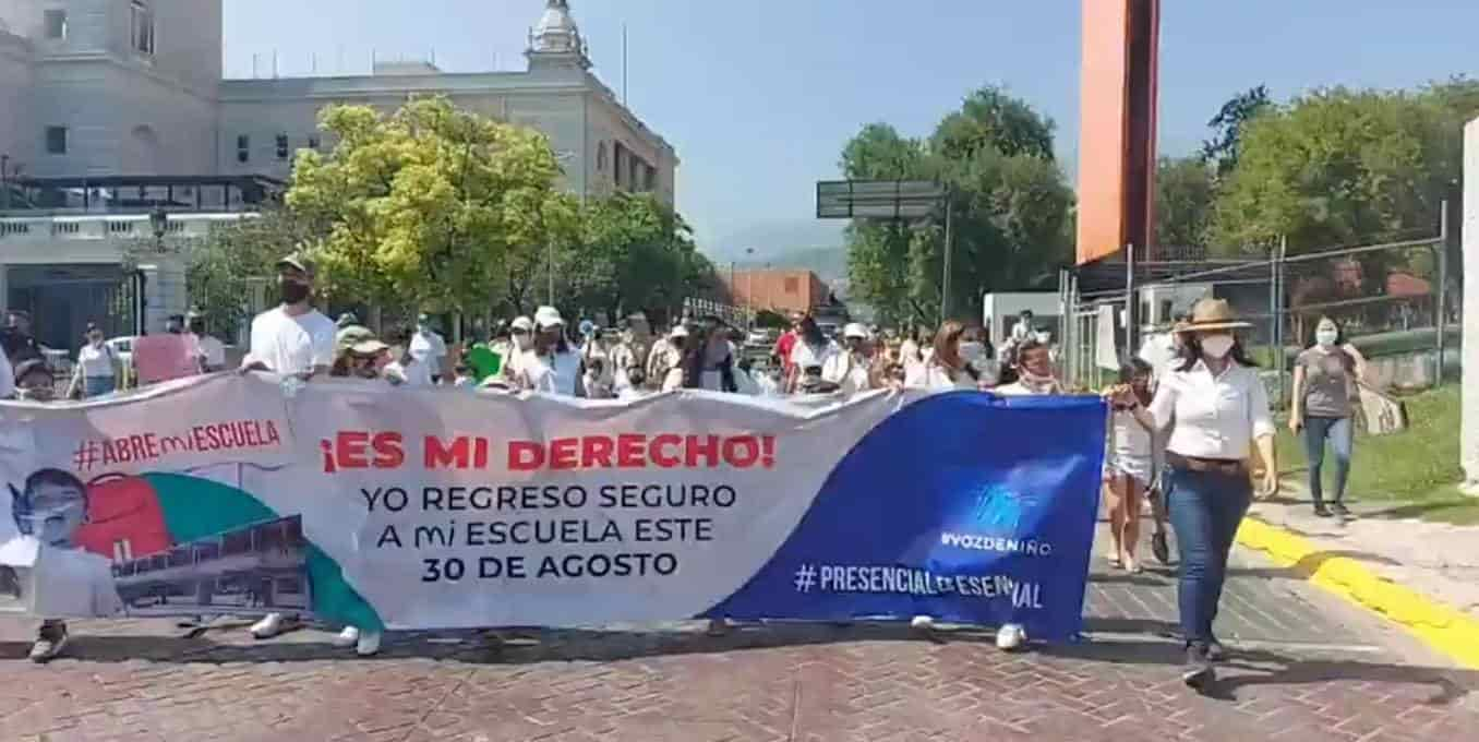 protesta presencial