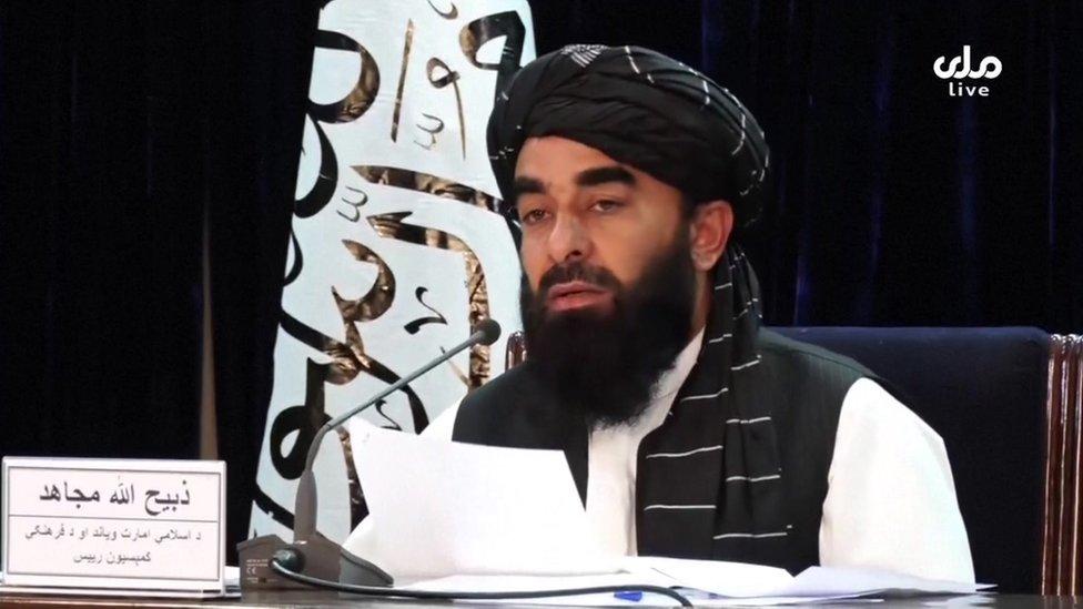 Talibán anuncio un gabinete provisional