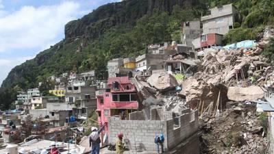 desgaje de cerro chiquihuite