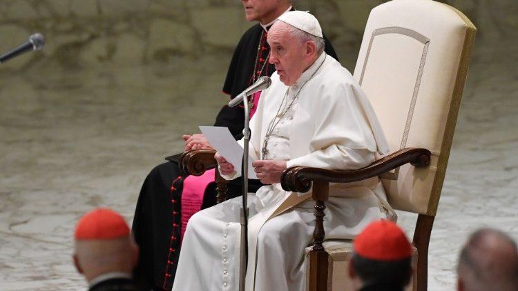 audiencia general del papa aula paulo VI