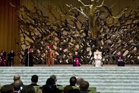 """El Papa Francisco continuó en la catequesis con """"la explicación de la Carta de San Pablo a los Gálatas""""."""