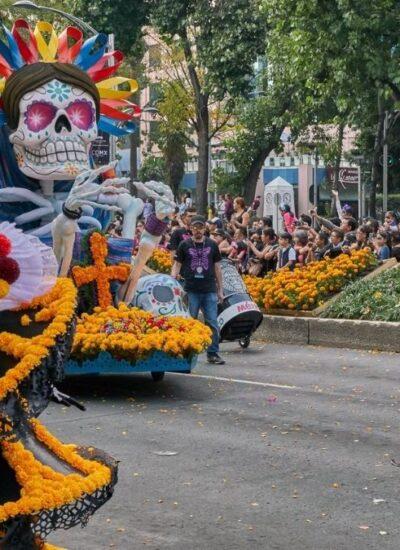 desfile de dia de muertos cdmx
