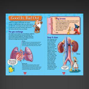Disney Human Body lungs spread