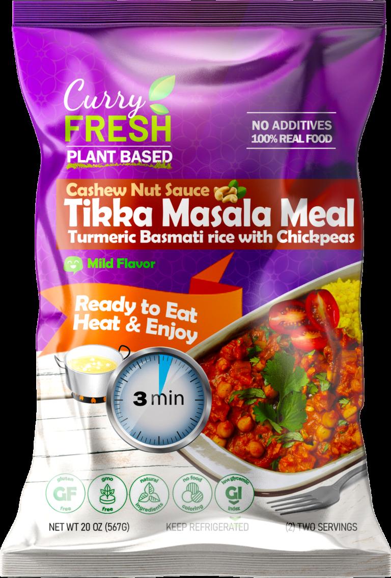 Tikka Masala with Cashew Sauce