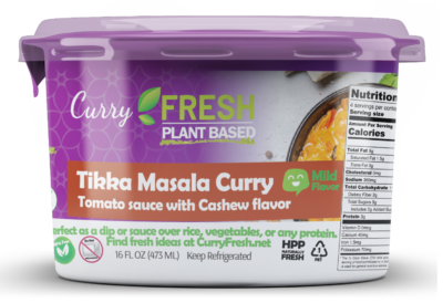 Tikka Masala Curry Vegan sauce