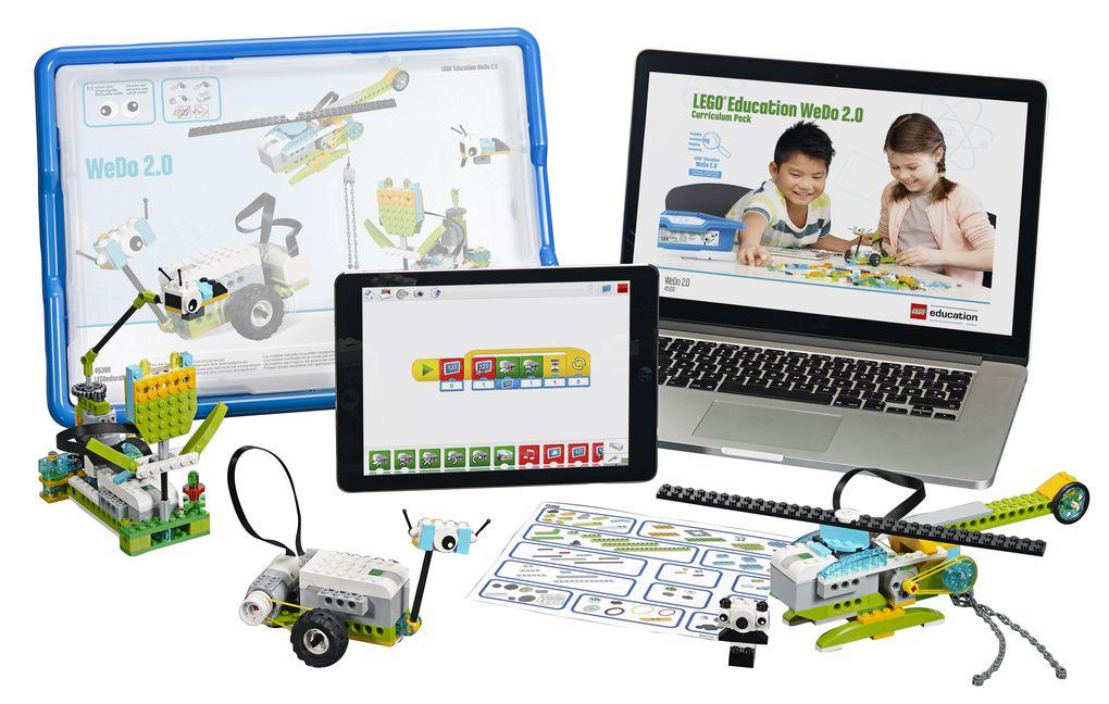 Lego 推出 WeDo 2.0 來幫助小朋友學機器人學