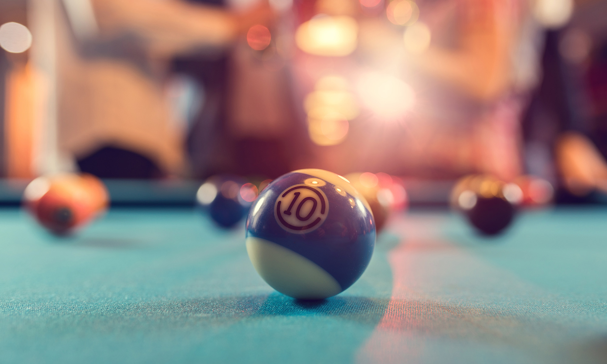 Pool tables and dart boards