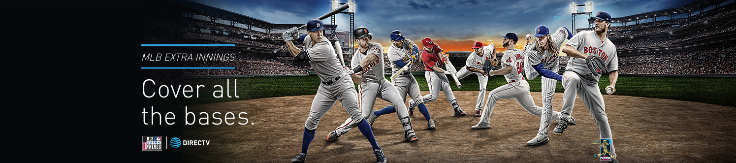 Get baseball here with MLB package