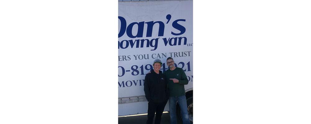 Dan's Moving Van customers