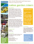 Native Garden Intern @ White Point Nature Education Center and Preserve | Los Angeles | California | United States