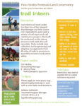Trail Intern @ Palos Verdes Peninsula Land Conservancy | Rolling Hills Estates | California | United States