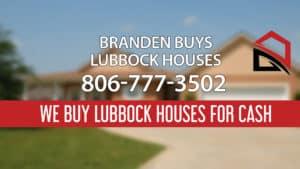 We Buy Lubbock Houses In 3 Days