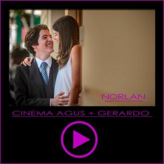 Video Cinema de boda de Agustina y Gerardo en Palacio San Miguel por Norlan Modern Photo y Cinema Video