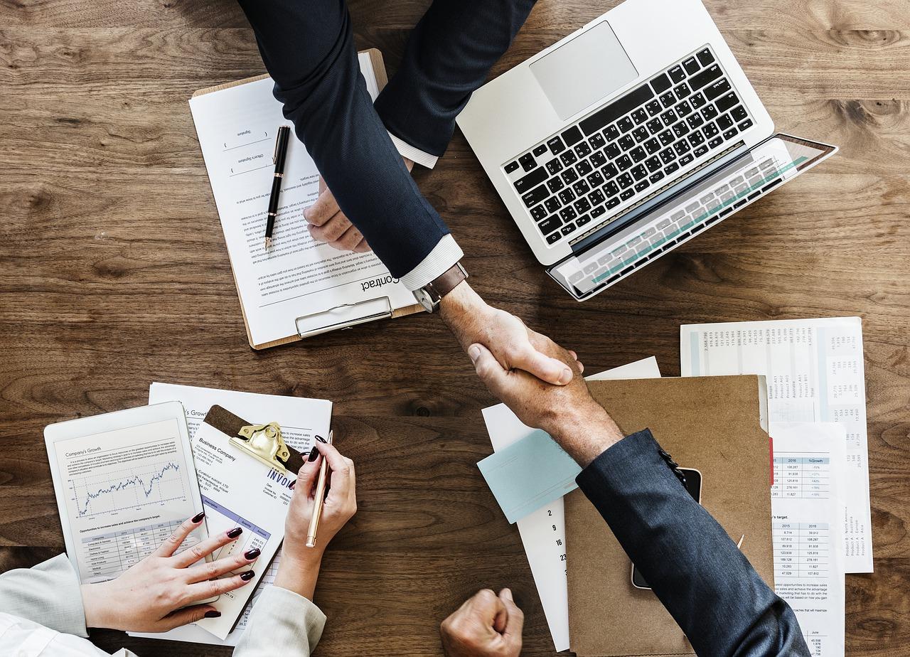 Handshake- Website image