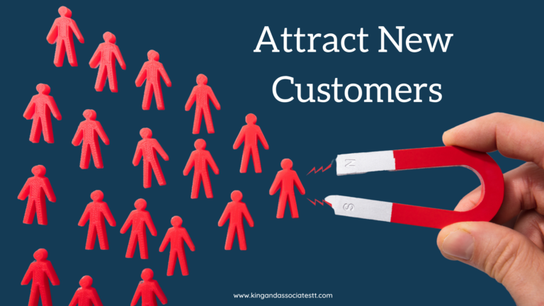 Shows magnet for attracting new customers