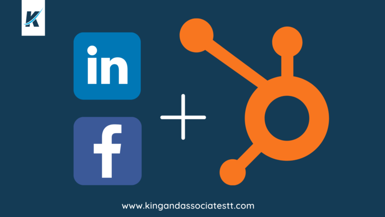 showing face book and LinkedIn integration with Hubspot
