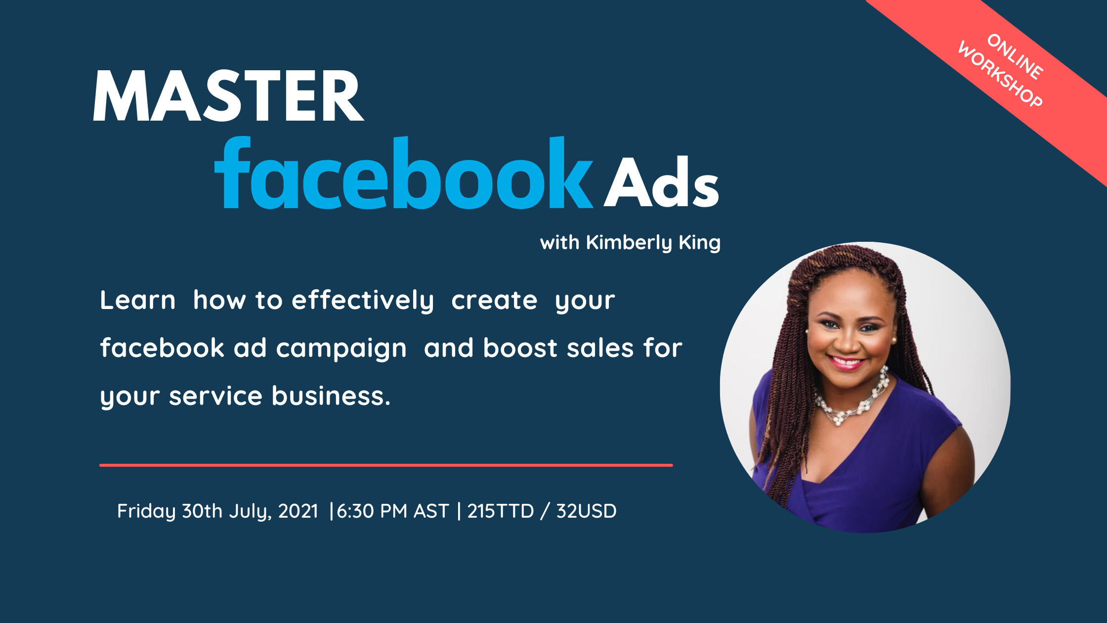 Master Facebook Ads with Kimberly King
