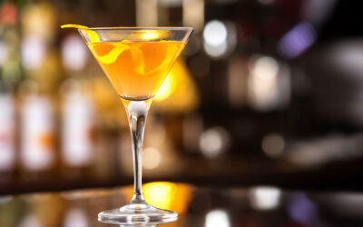Mandarin Orange Martini