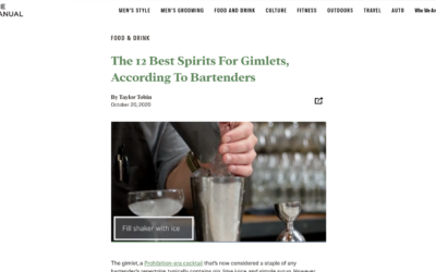 The 12 Best Spirits For Gimlets, According To Bartenders