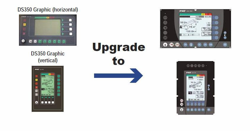 DS350 upgrade design