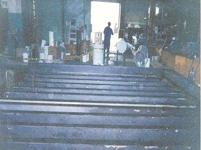 Oshkosh Truck chemical tank resurfacing