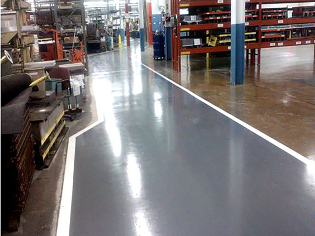 Miller Electric Aisles and Lines