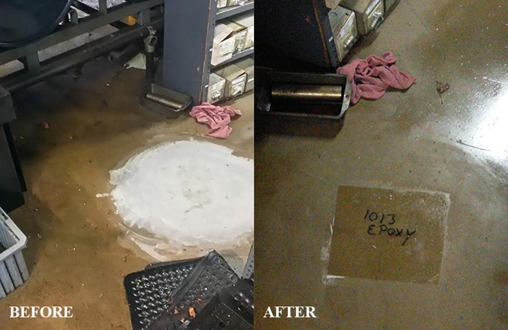 Pindel Floor Cleaned