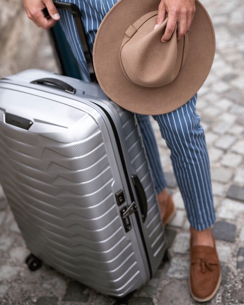 new proxis silver from samsonite