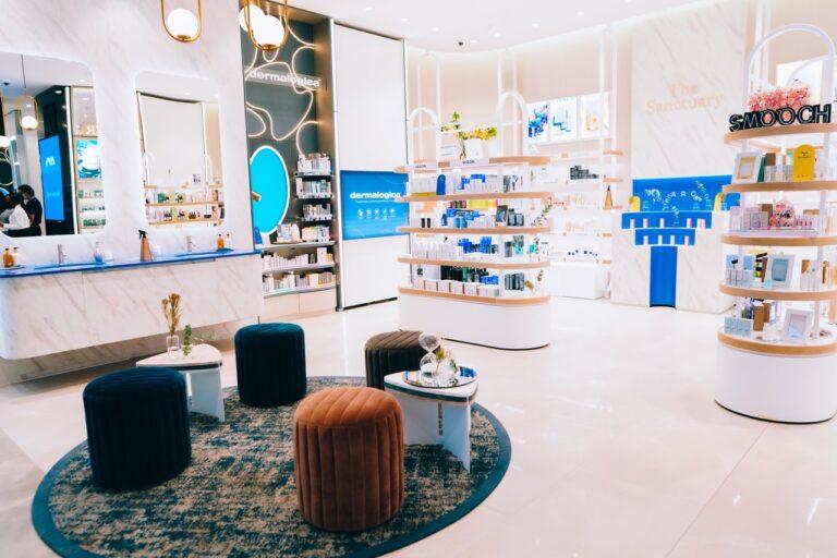 beauty store interior hello joburg