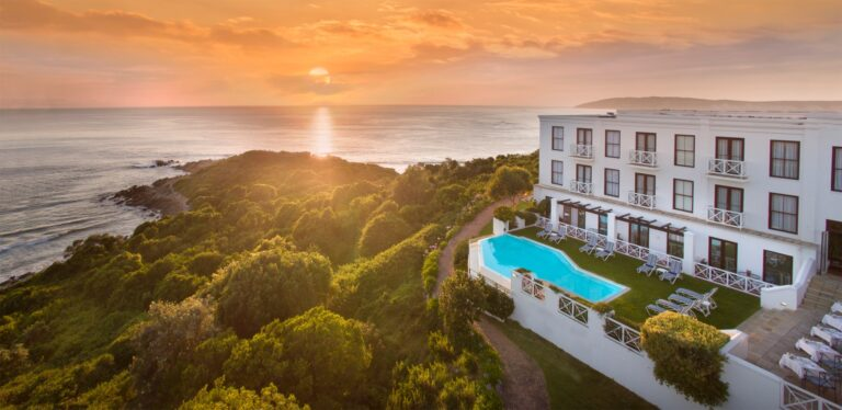 View from the Plettenberg