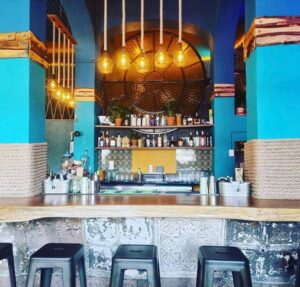 Image of inside a bar