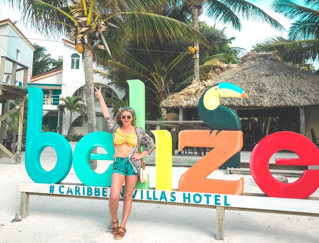 san pedro, belize, ambergris caye, caribbean villas hotel