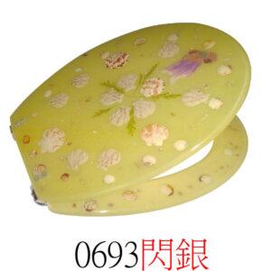 通用樹脂水晶廁板0693