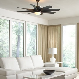 Stay Cool With A Ceiling Fan As Stylish As It Is Functional