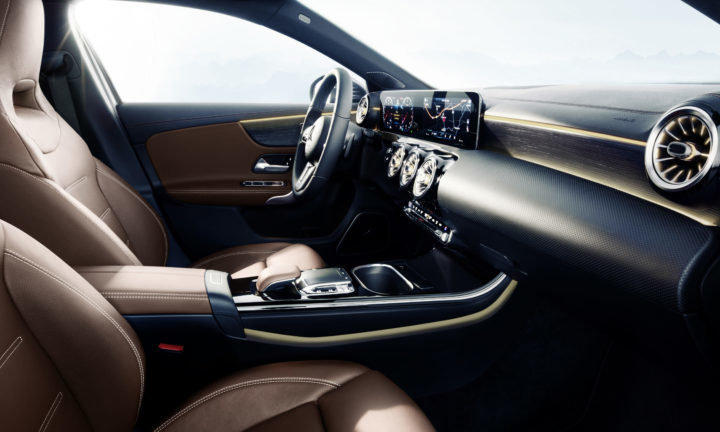 New The Mercedes A-Class Interior