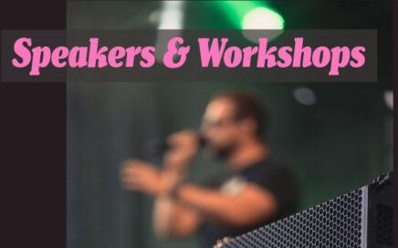 Speakers & WOrkshops