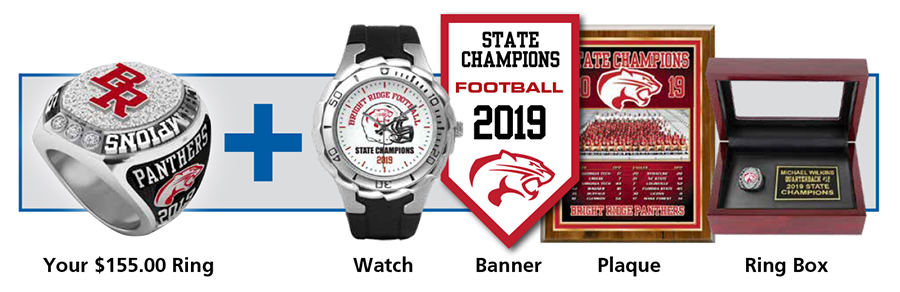 Championship Ring package options