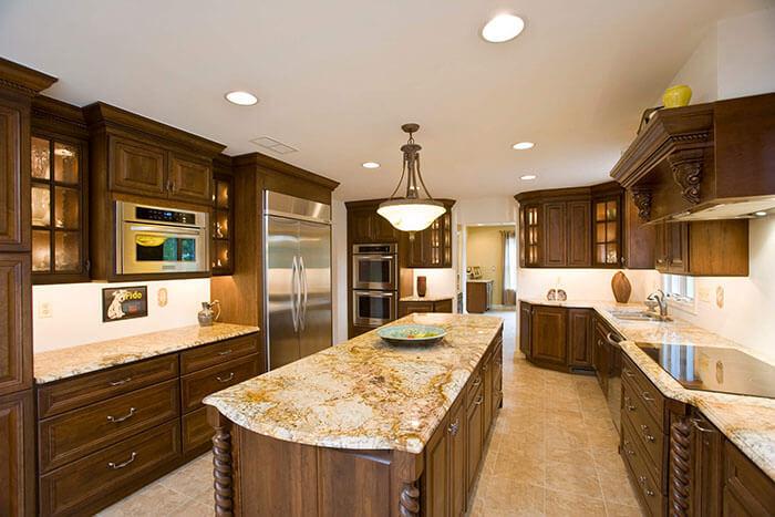 granite kitchen countertop South Lyon MI