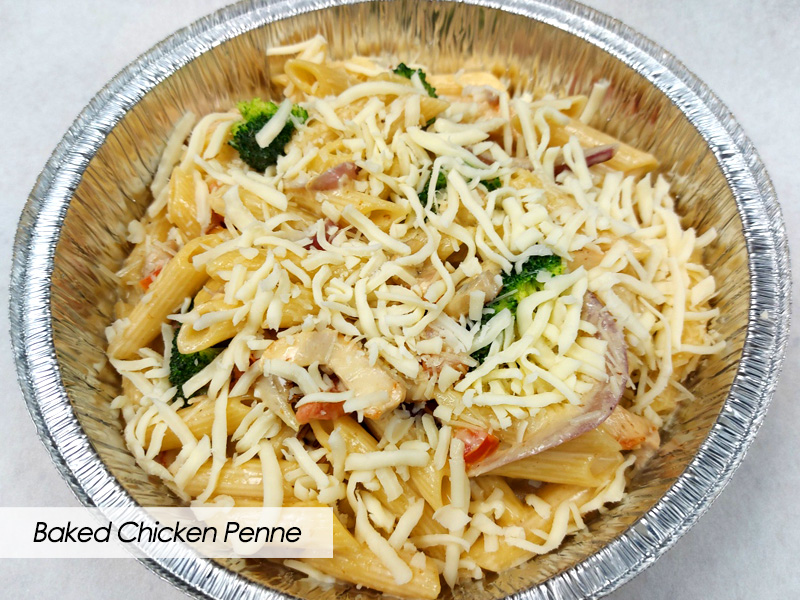 Frozen Take-Home Meals - Baked Chicken Penne - The Hideout - Red Deer, Alberta