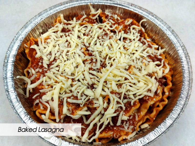 Frozen Take-Home Meals - Baked Lasagna - The Hideout - Red Deer, Alberta
