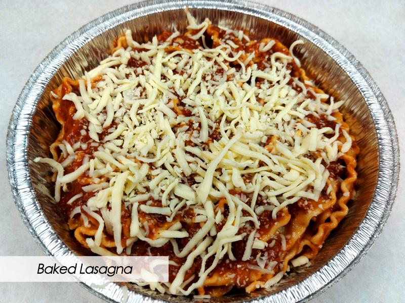 Frozen Take-Home Meals - Baked Lasagna - The Hideout - Red Deer, Alberta