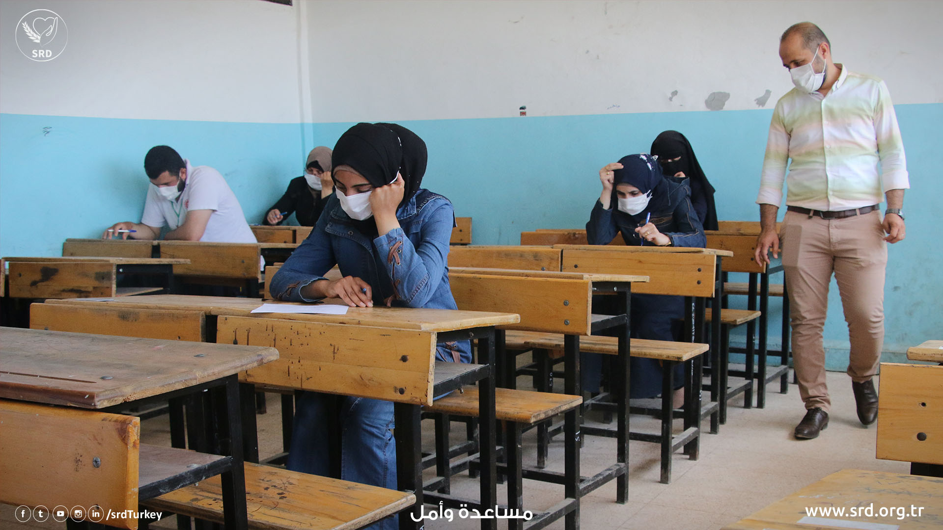 Syria Relief & Development's Afrin School of Nursing & Midwifery