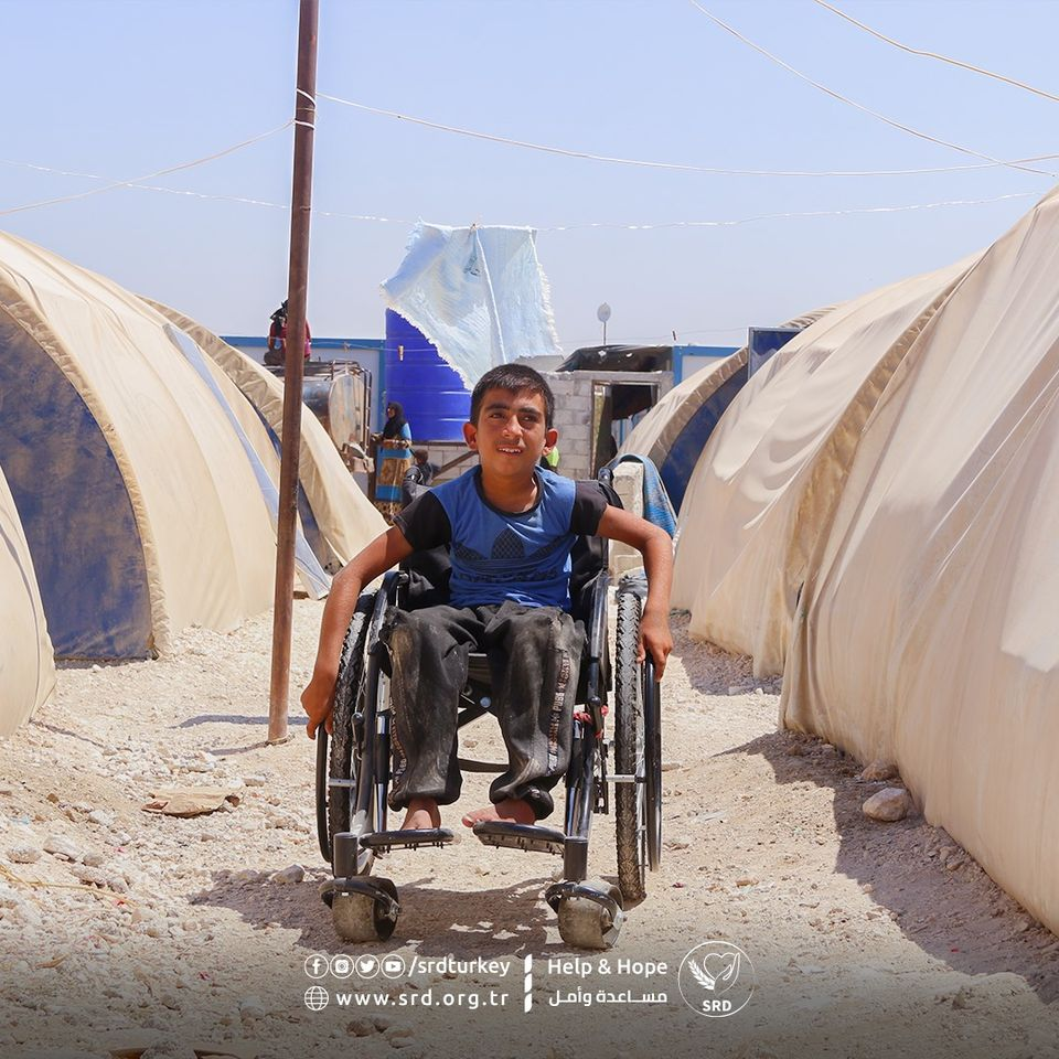 SRD Helps Disabled Population in Syria